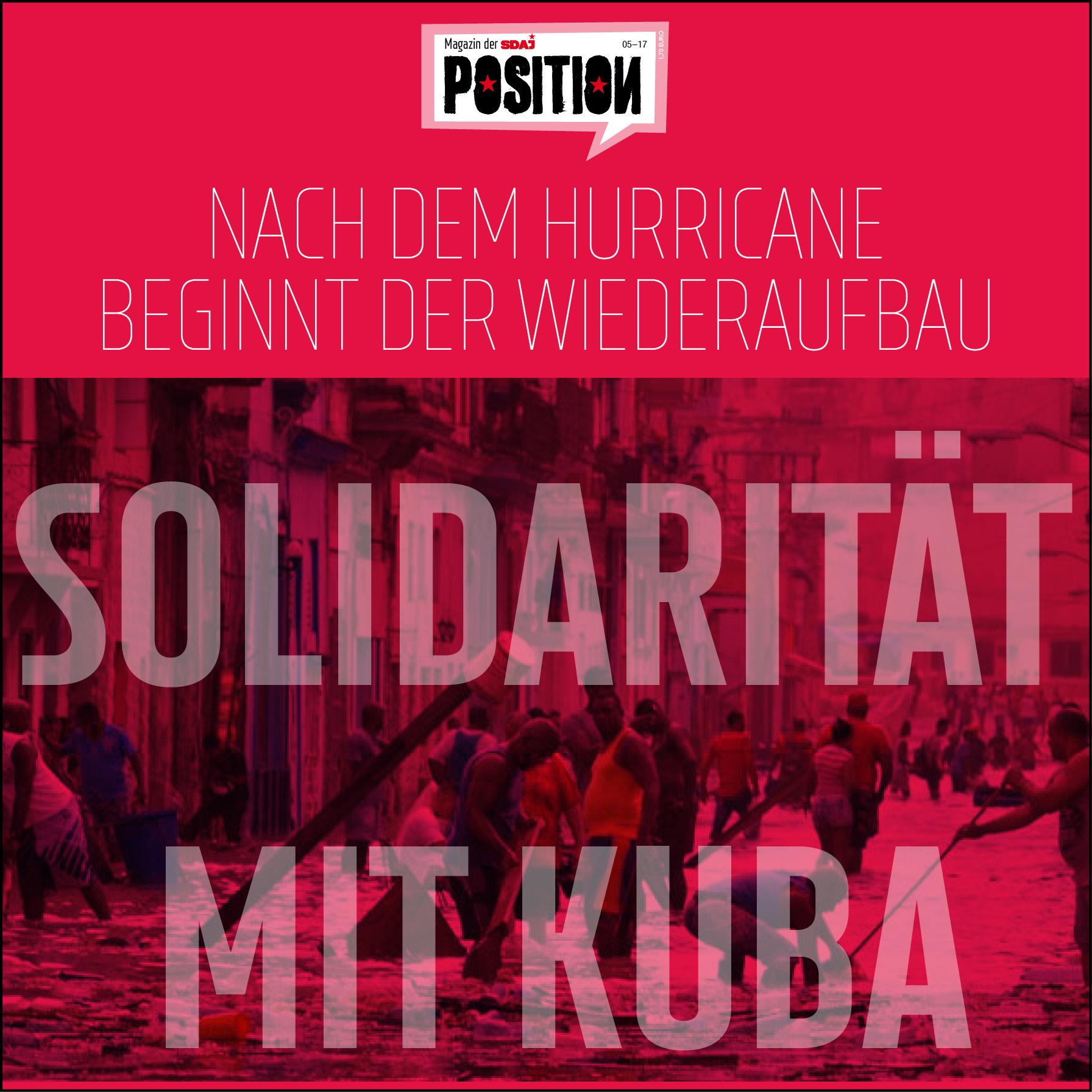 Solidarität mit Kuba!