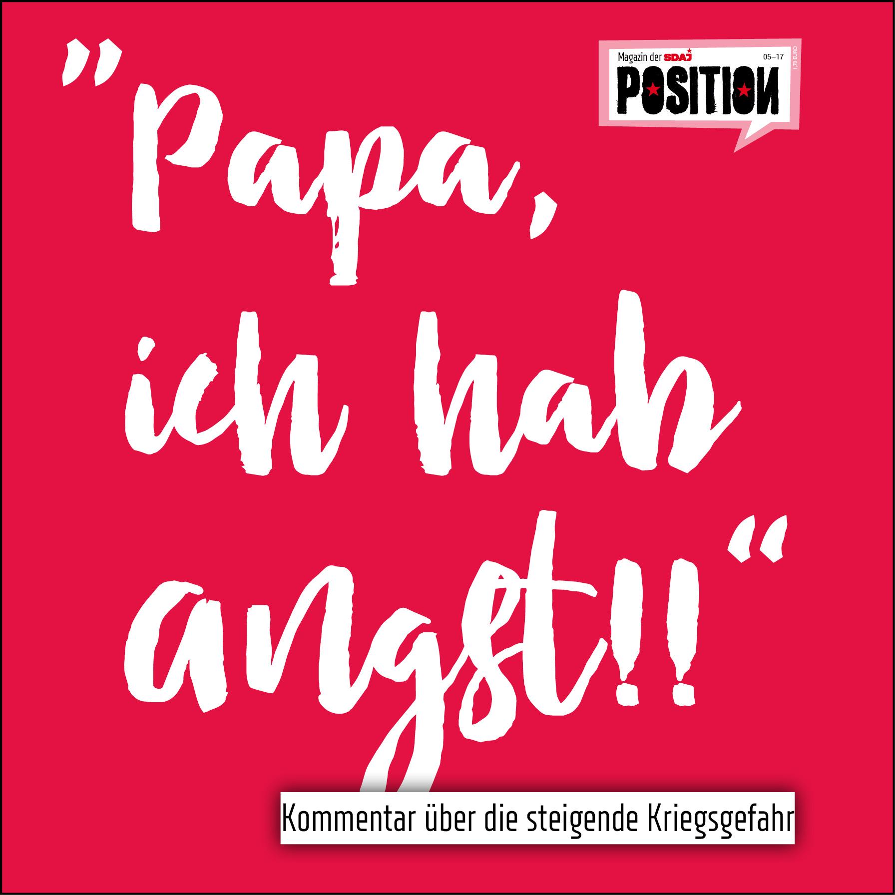 """Papa, ich hab Angst!!"""