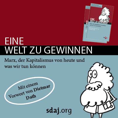"""Buchprojekt """"Eine Welt zu gewinnen"""" – Marxismus-Einführung der SDAJ"""