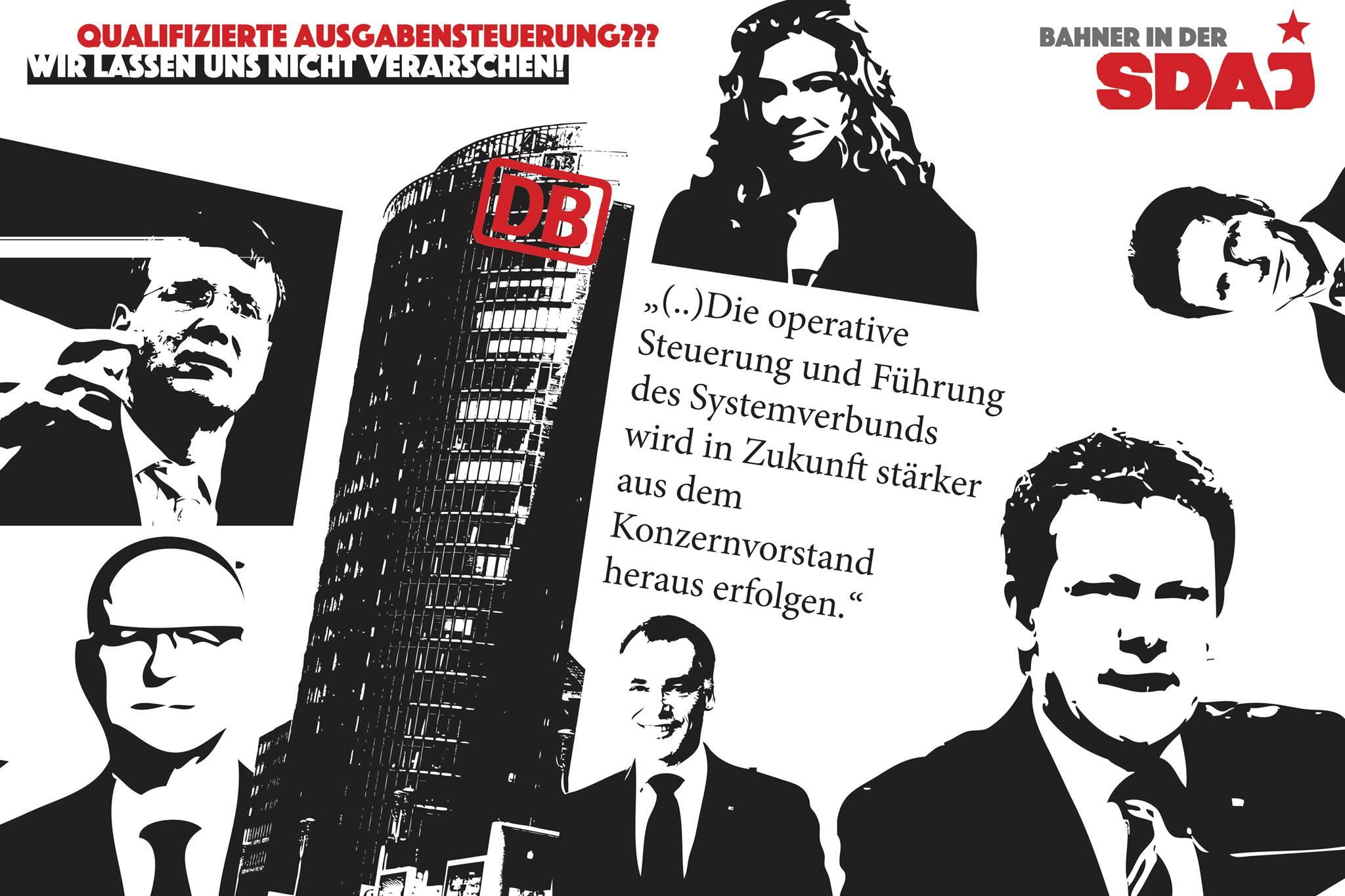 Ausgabenstopp der Deutsche Bahn AG….