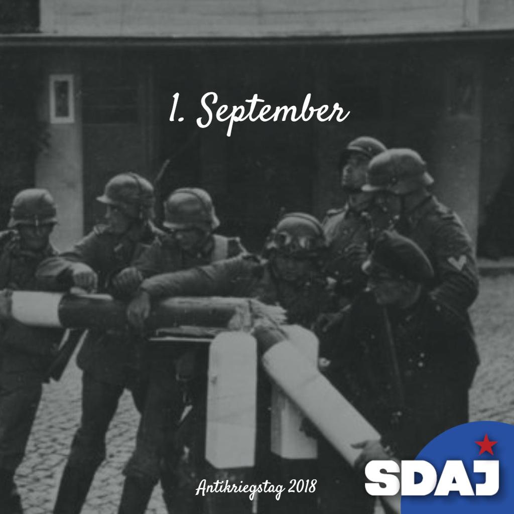 Für den Frieden, heraus zum Antikriegstag!