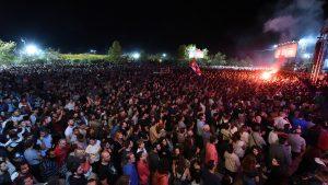 Das Odigits-Festival der Kommunistischen Jugend ist das größte politisch-kulturelle Event in ganz Griechenland