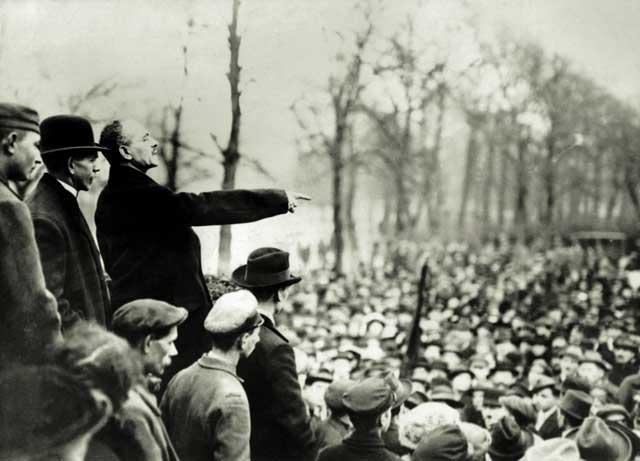 Karl Liebknechts Kampf gegen den Krieg (POSITION #4/18)