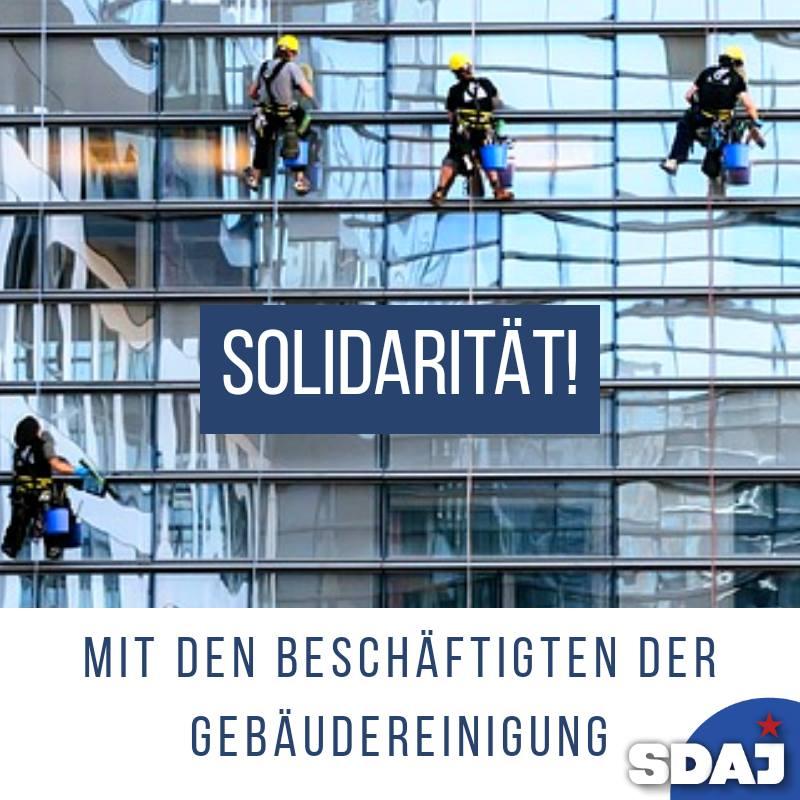 Liebe Kolleginnen und Kollegen, wir solidarisieren uns mit eurem Streik, der zei…