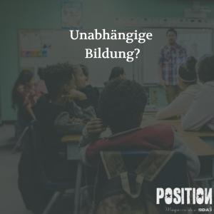 Unabhängige Bildung? – Der Einfluss von Unternehmen auf unseren Unterricht…