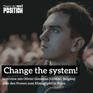 Change the System, Not the Climate! (POSITION #5/18)…