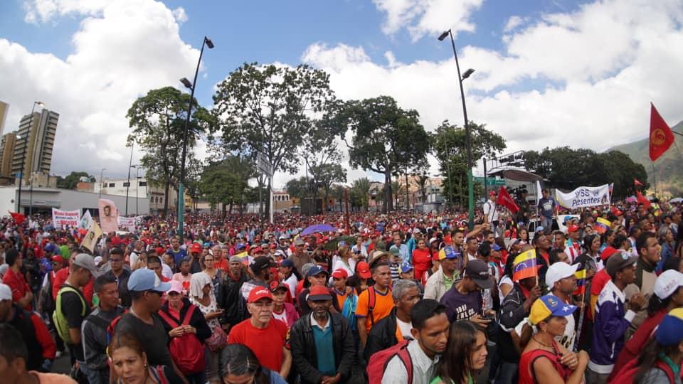 Solidarität mit dem venezolanischen Volk und seiner gewählten Regierung!