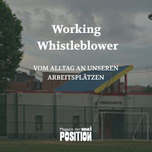 Working Whistleblower (POSITION #5/18)…