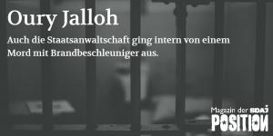 """""""Auf einer Pritsche Feuer gefangen, angekettet in unserem Land"""" (POSITION #01/19…"""