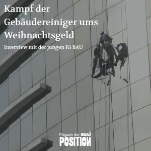 Gebäudereiniger sind keine ArbeiterInnen zweiter Klasse (Position #01/19)…