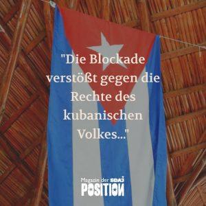 Kampf gegen die Blockade (POSITION #01/19)…