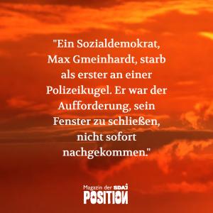 Novemberrevolution und Blutmai (POSITION #01/19)…