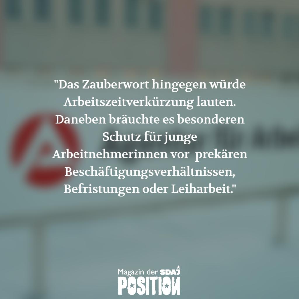 Die EU und die Jugend (POSITION #01/19)