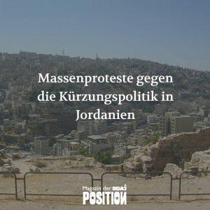 Massenproteste gegen Kürzungspolitik (POSITION #01/19)…