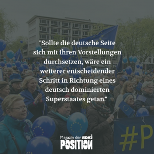Wem nützt die europäische Republik? (POSITION #01/19)…