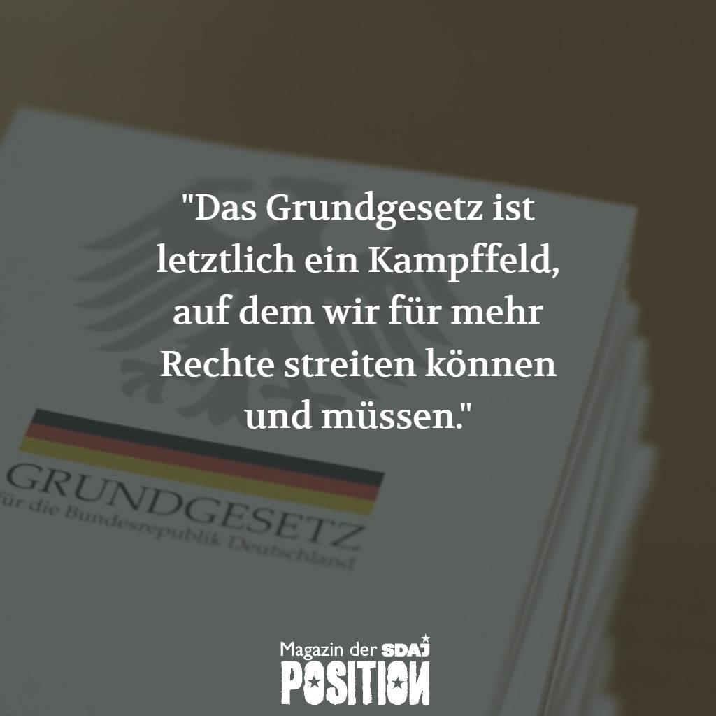 70 Jahre Grundgesetz (POSITION #02/19)…