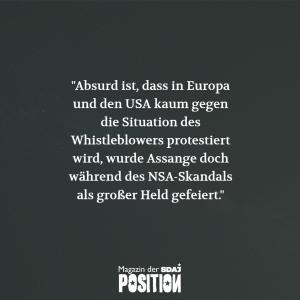 Free Assange! (POSITION #02/19)…