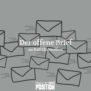 Der Offene Brief an Ralf Christoffers (POSITION #02/19)…