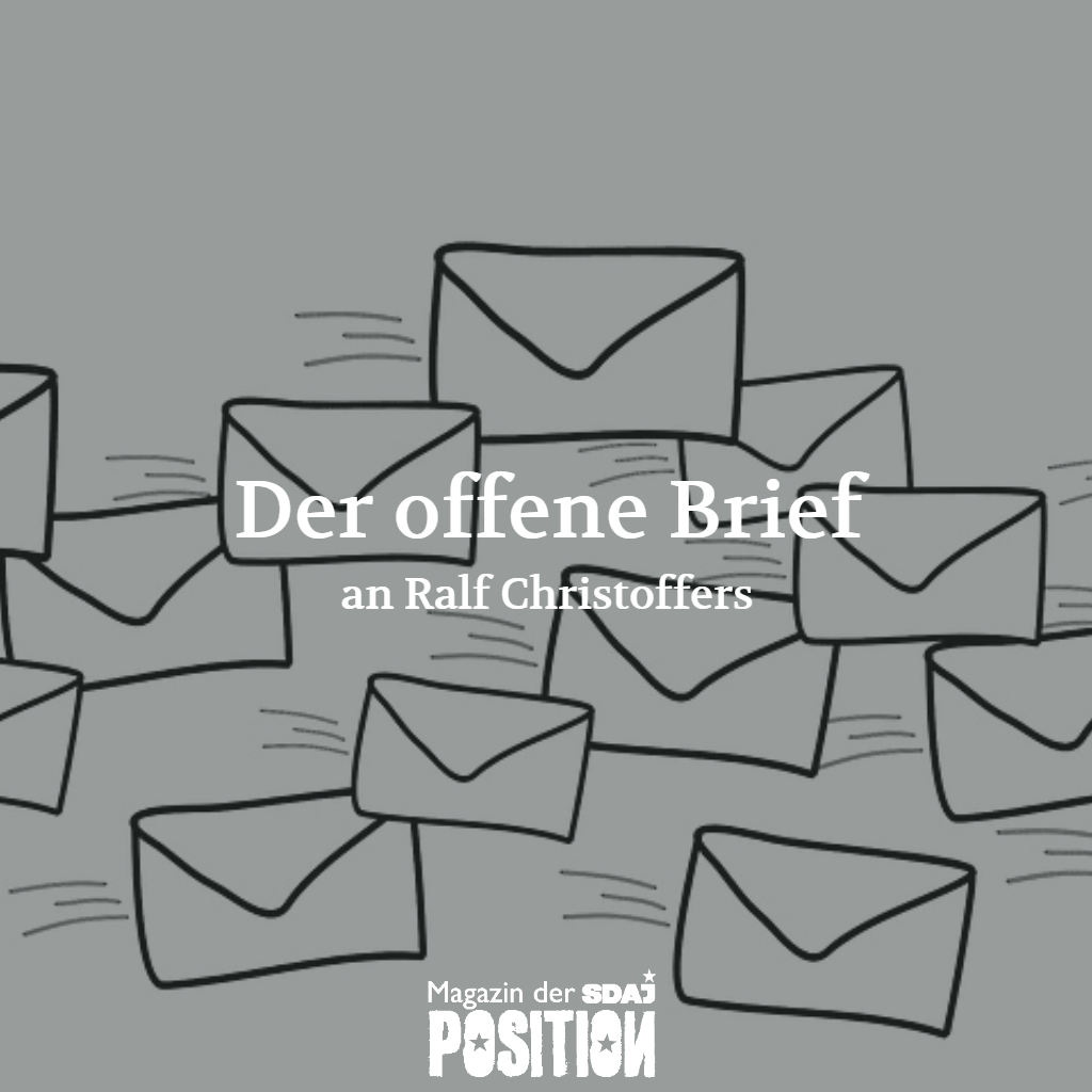 Der Offene Brief an Ralf Christoffers (POSITION #02/19)…