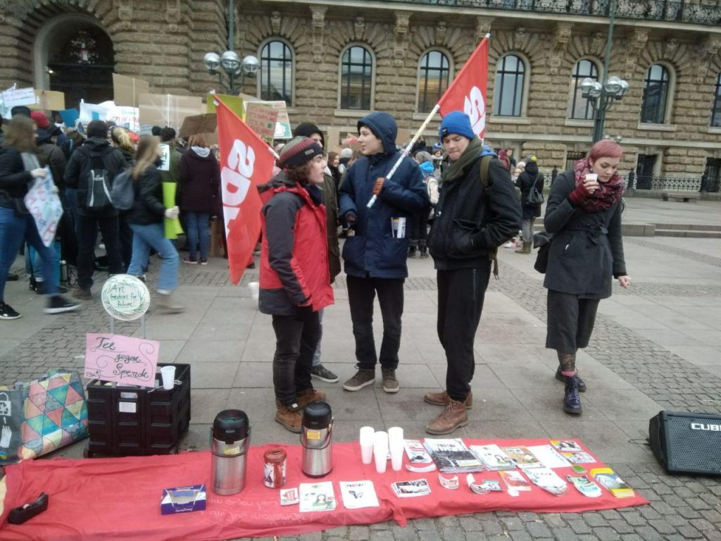 Klimastreik in Hamburg
