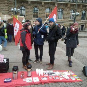 Klimastreik in Hamburg