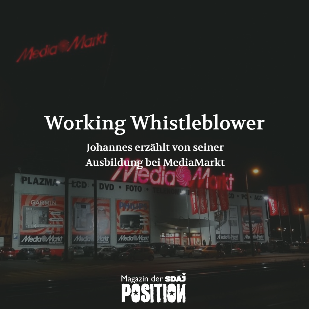 Working Whistleblower (POSITION #02/19)…
