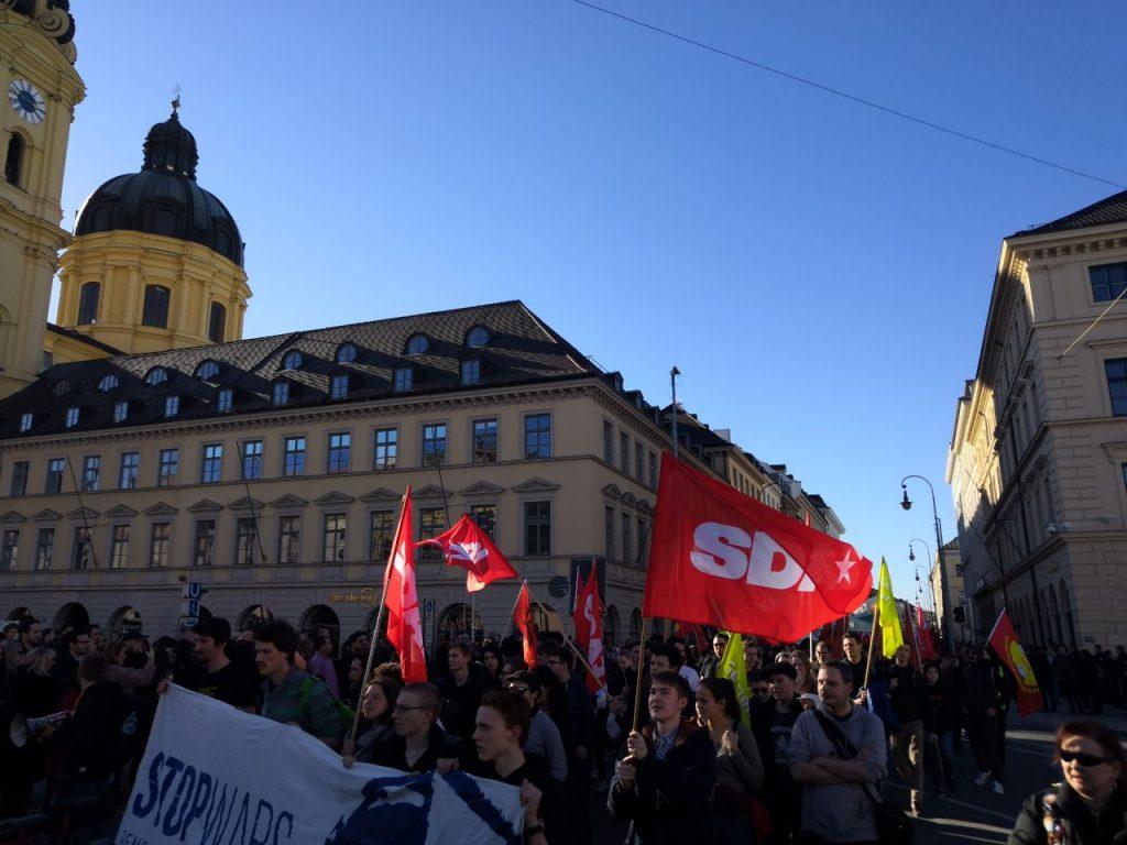 Proteste gegen die Münchner Sicherheitskonferenz