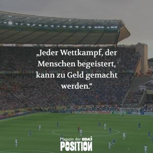 Kommerzialisierung im Sport (POSITION #02/19)…