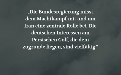 Iran-Krise (POSITION #04/19)