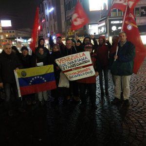 Solidarität mit Venezuela in Bielefeld