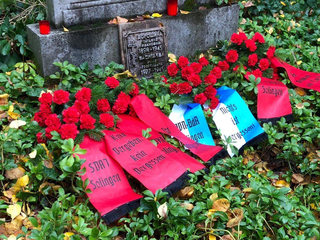 Gedenken an Zwangsarbeiter