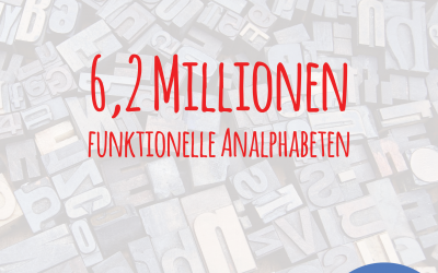 6,2 Millionen funktionelle Analphabeten in Deutschland