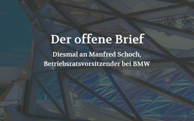 Der offene Brief (POSITION #04/19)