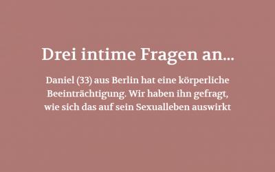 Drei intime Fragen an… (POSITION #04/19)