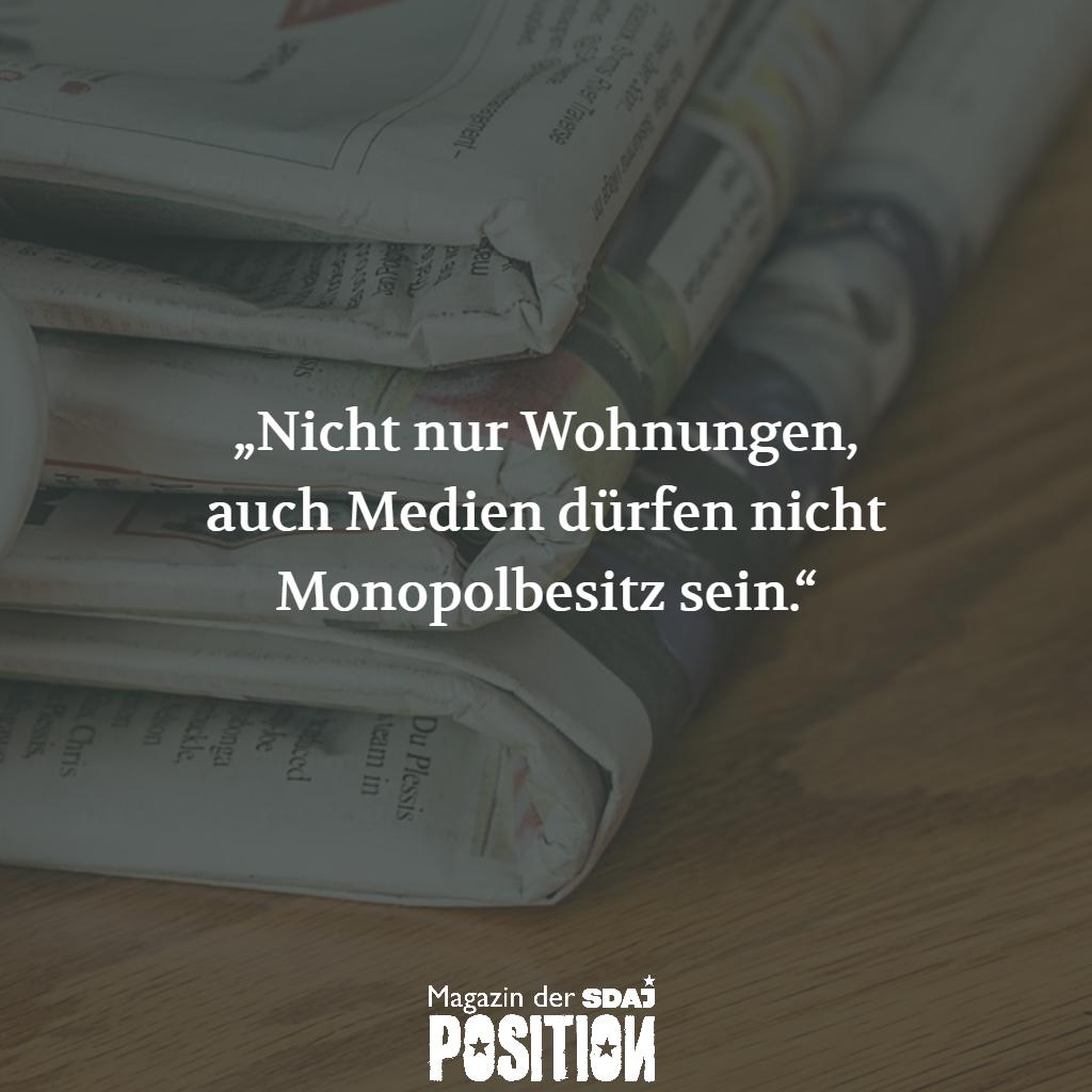 Keine Demokratie ohne demokratische Medien (POSITION #04/19)