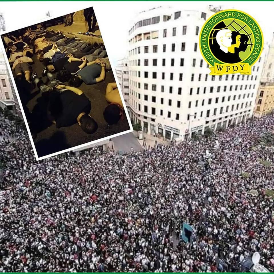Der WBDJ zu den Protesten im Libanon