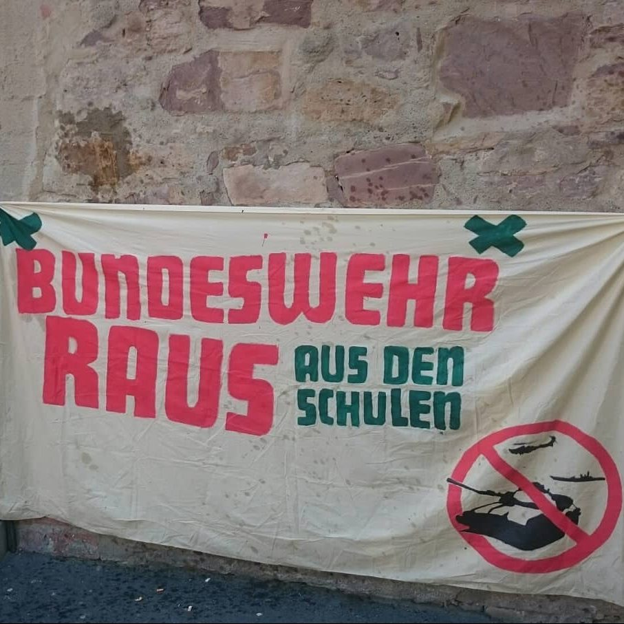 Bundeswehrstöraktion in Kassel