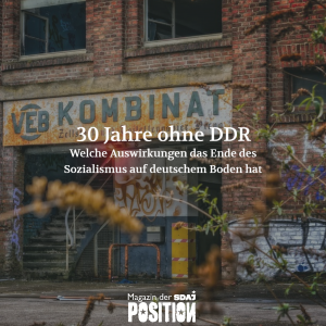 30 Jahre ohne DDR (POSITION #05/19)