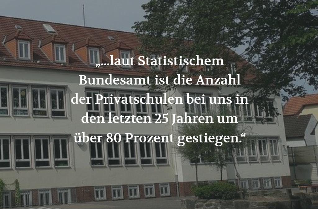 Öffentliche Bildung in privater Hand? (POSITION #05/19)