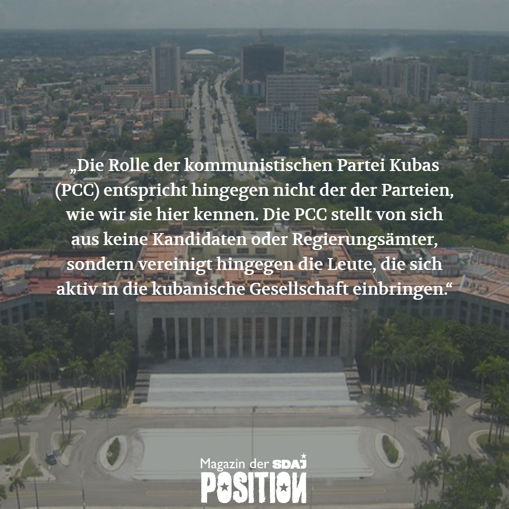 Die Demokratie in Kuba (POSITION #05/19)