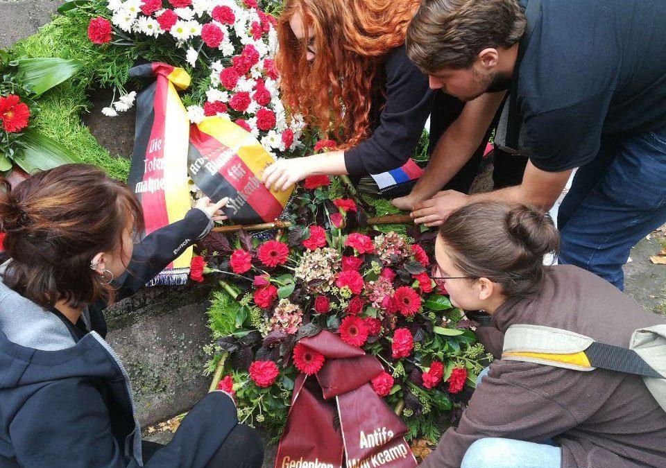 Gedenken an Sowjetsoldaten in Stukenbrock