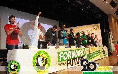Politische Erklärung der 20. Vollversammlung des WBDJ