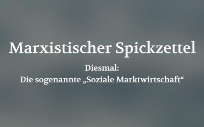 Marxistischer Spickzettel (POSITION #05/19)