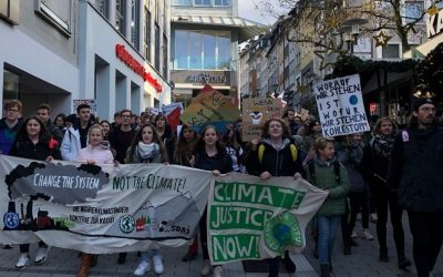 Auf die Straße gegen Umweltzerstörung, Krieg und Kapitalismus