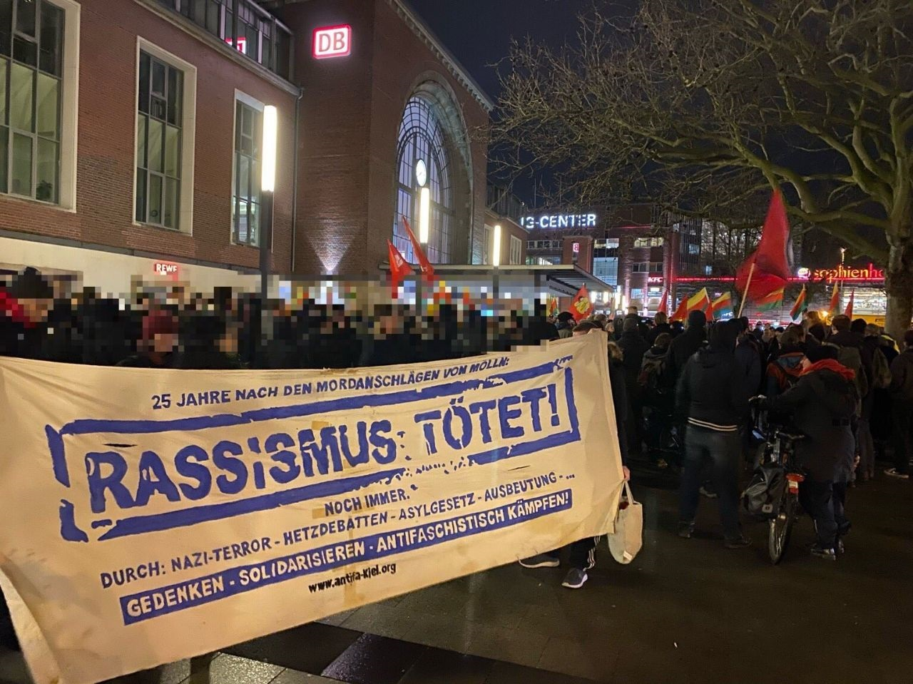 Hanau – kein Vergeben kein Vergessen!