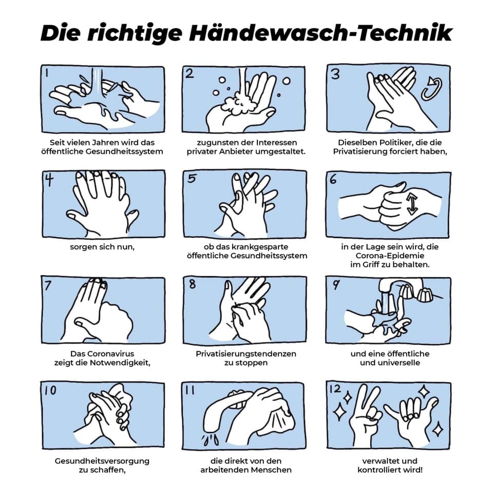 How to wash your hands these days