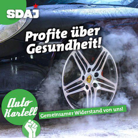 Deutsche Autokonzerne: Profite über Gesundheit!