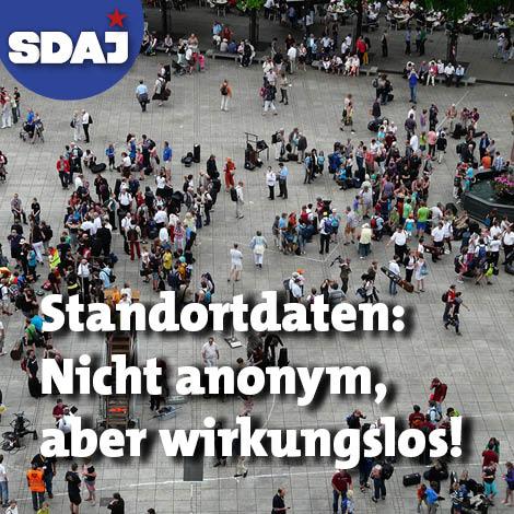 Standortdaten: nicht anonym, aber wirkungslos!