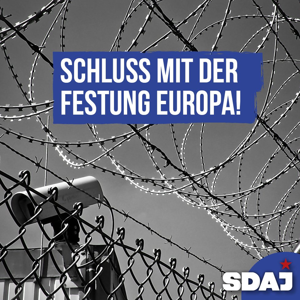 Schluss mit der Festung Europa!