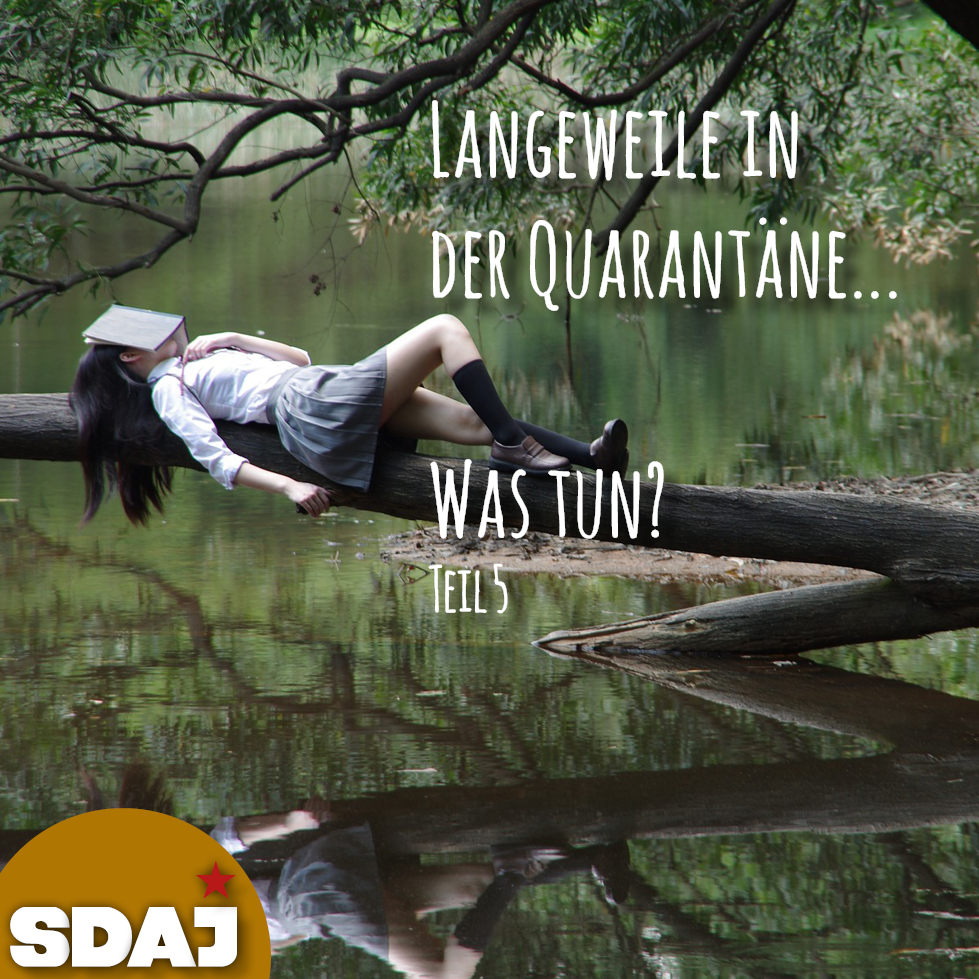 Quarantäne – Was tun? (Teil V)